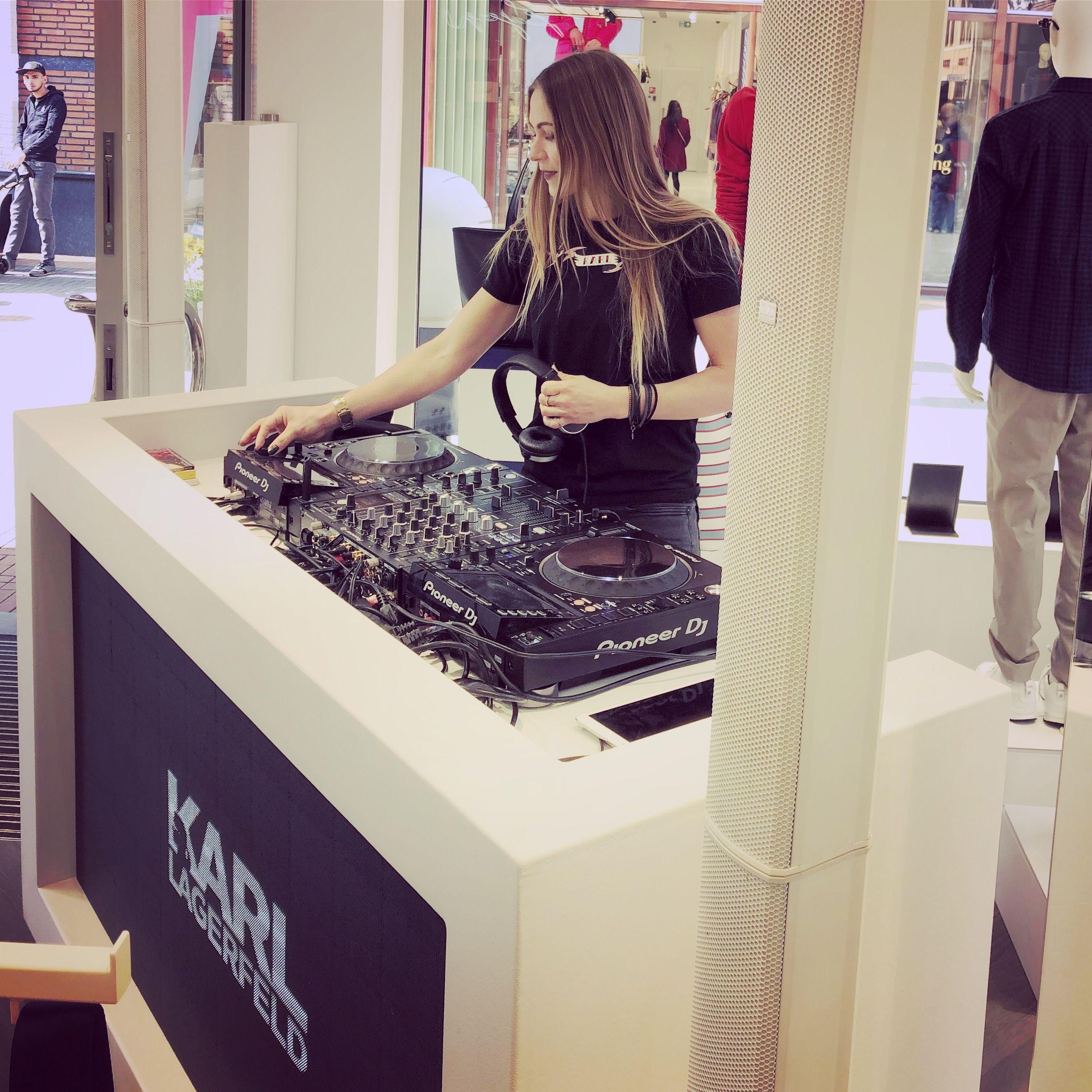Karl Lagerfeld, Fashion Event, Mira Falkenstein, DJ, DJane